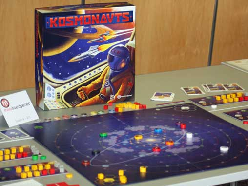 Kosmonauts displayed at Spiel '12